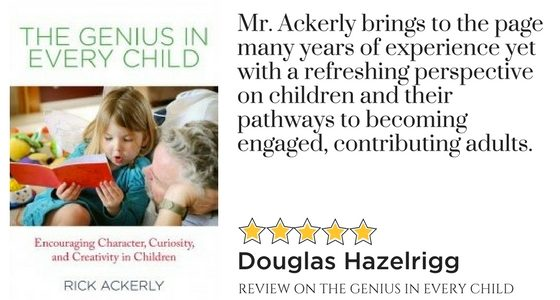 Rewarding reading for educators and parents. – Douglas Hazelrigg