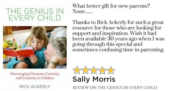 A great gift for new/young parents. – Review by Sally Morris